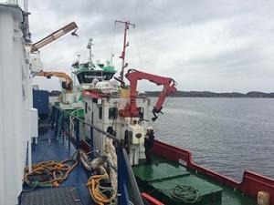 Fartøyet vårt, Tor 3, er en tidligere båt hos kystverket